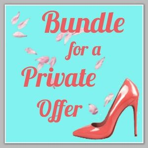 Private Offer for Bundle 2 or More Items!